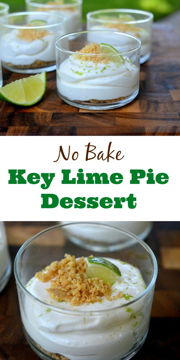 No Bake Key Lime Pie Dessert