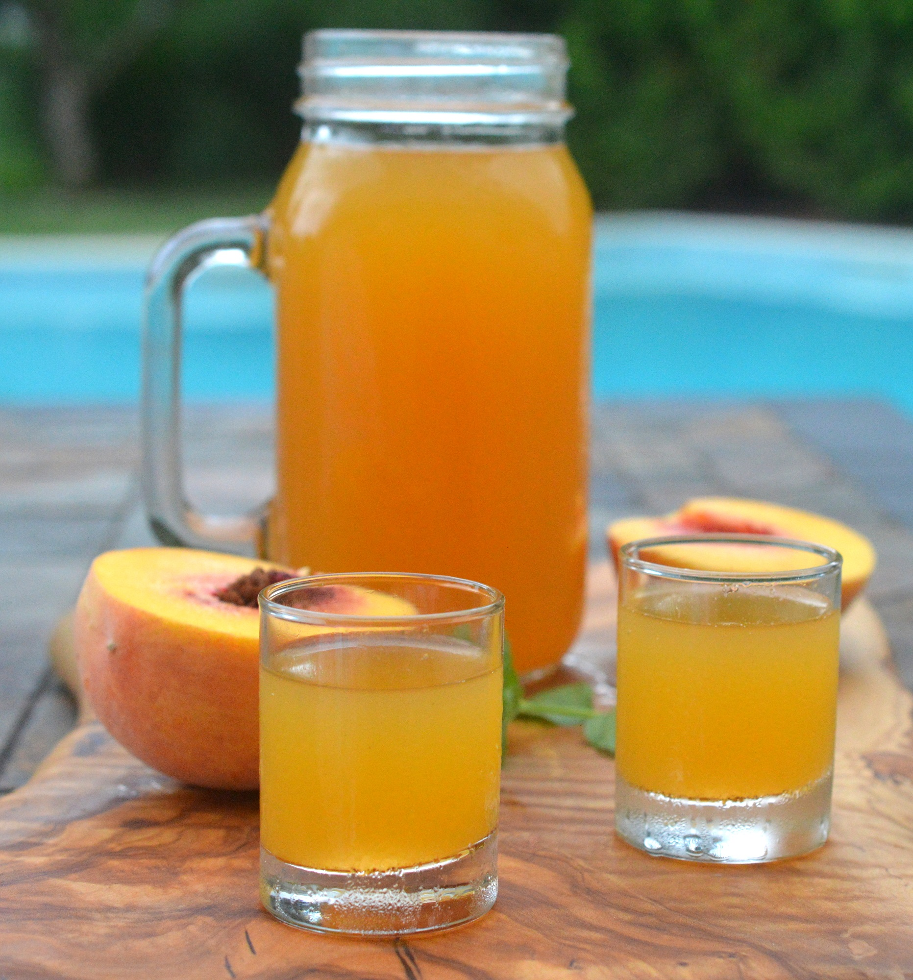 Fresh Peach Moonshine Recipe
