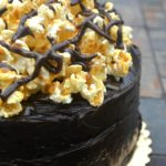 Chocolate Popcorn Cake - A childhood memory