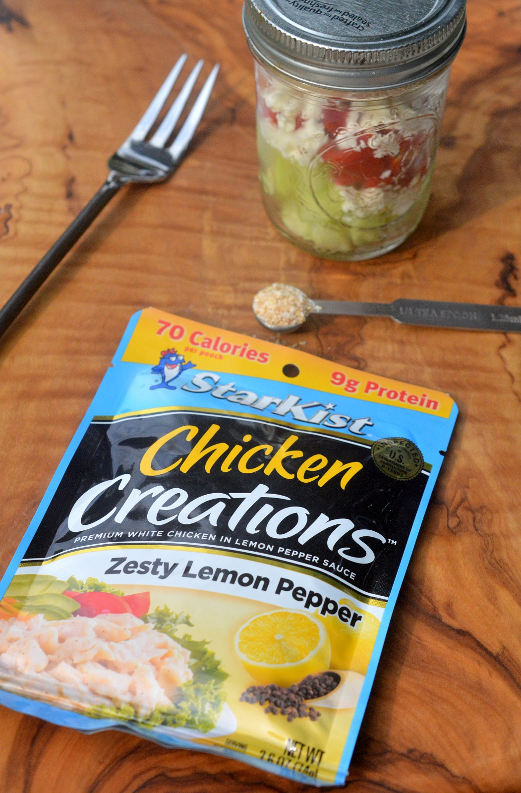 Easy Pouch Lunches using StarKist Chicken Creations