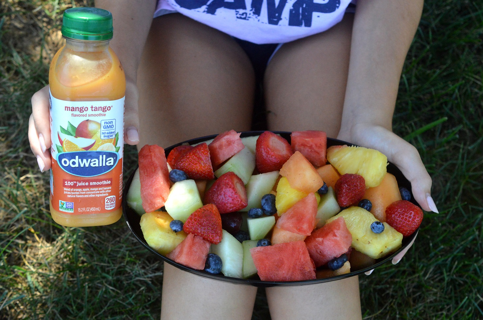Keeping Kid Athletes Hydrated with drinks and fruit