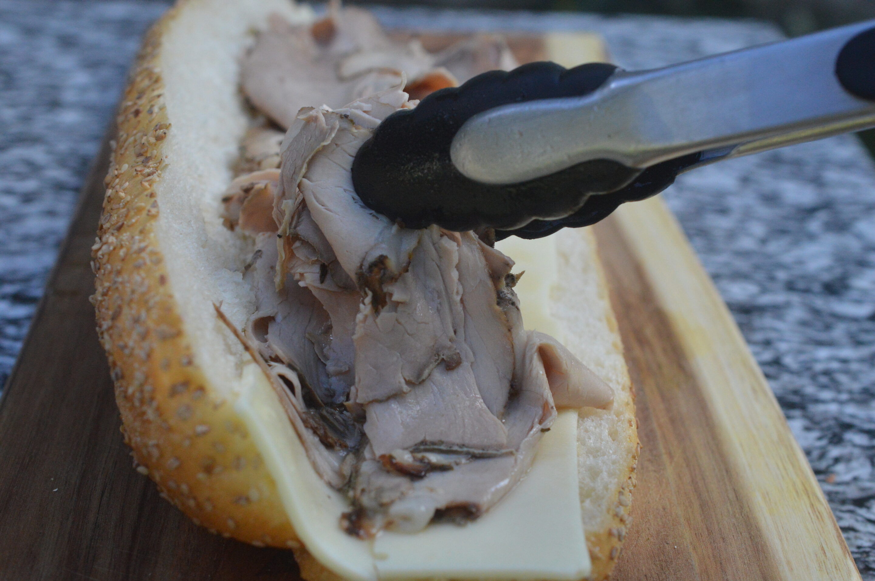 Recipe for Philly Roast Pork Sandwich