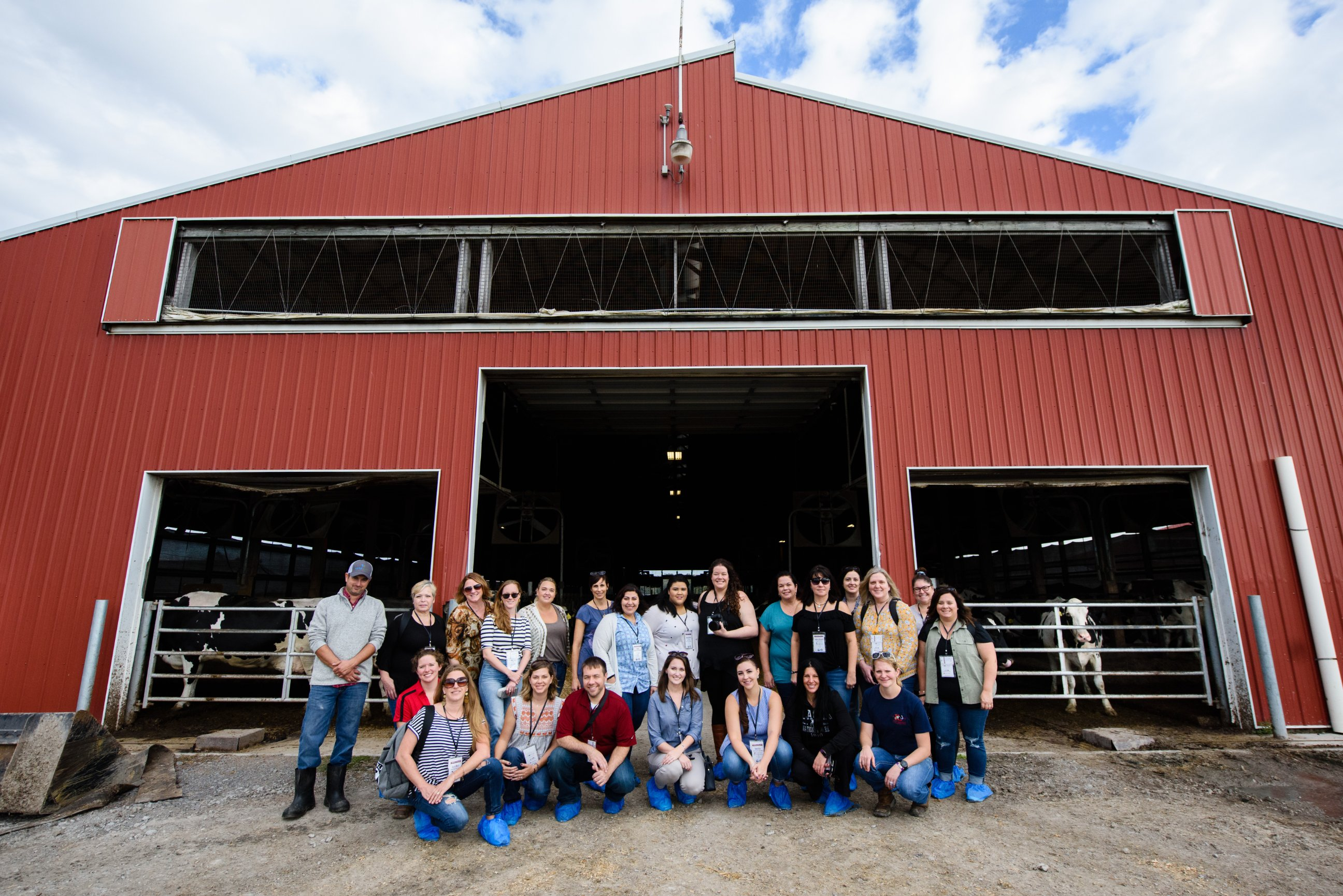 American Dairy Association North East 2018 Dairy Tour Bloggers