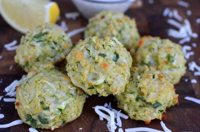 Mozzarella Zucchini Balls