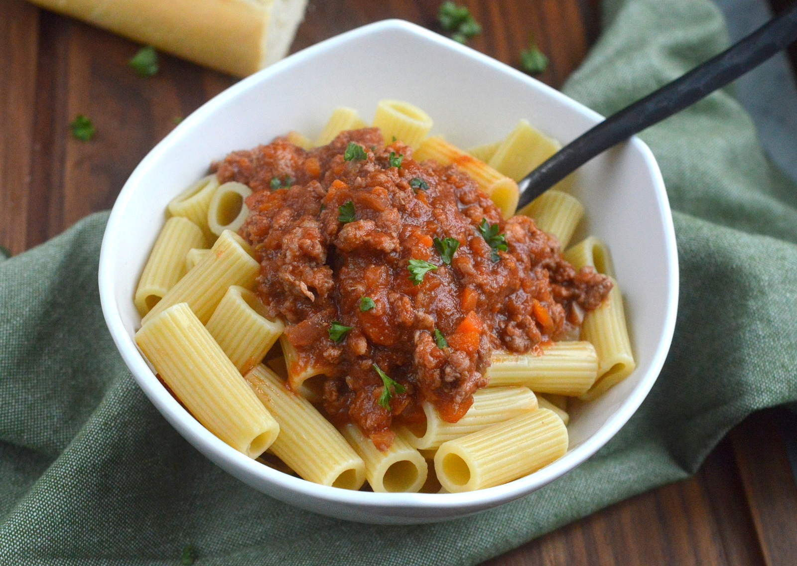 The BEST Pork Bolognese Recipe