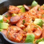 Cajun Shrimp and Andouille Skillet