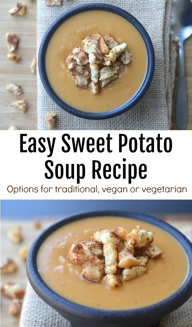 Easy Sweet Potato Soup Recipe