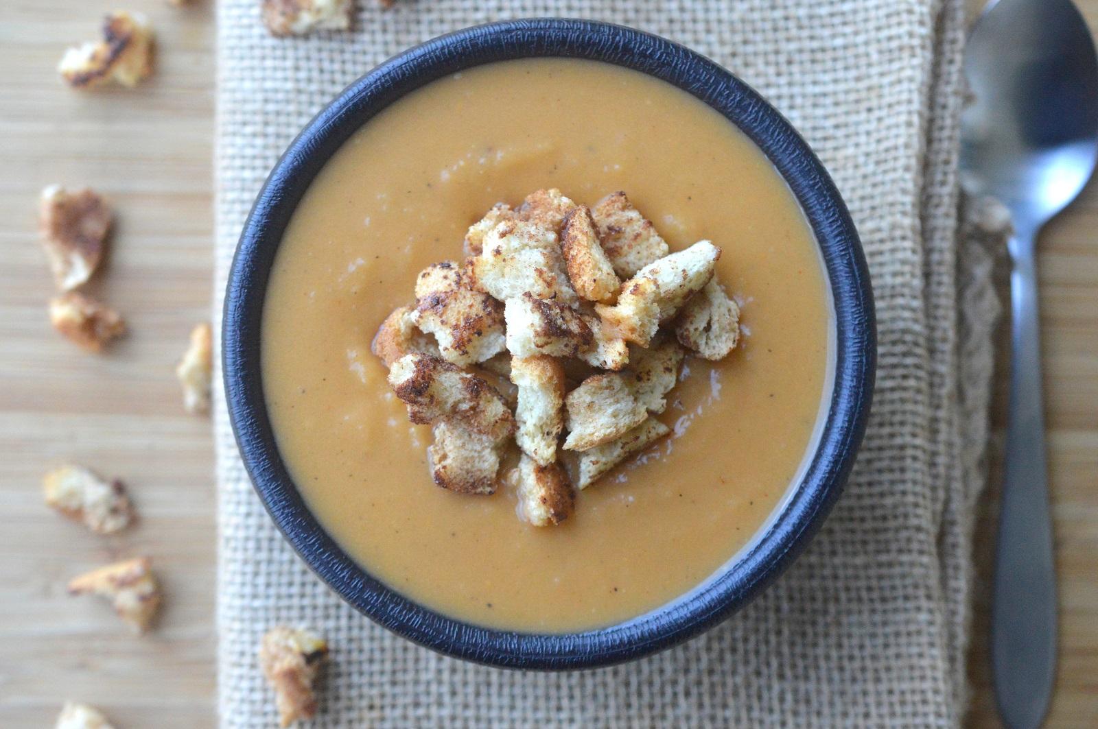 How To Make Easy Sweet Potato Soup