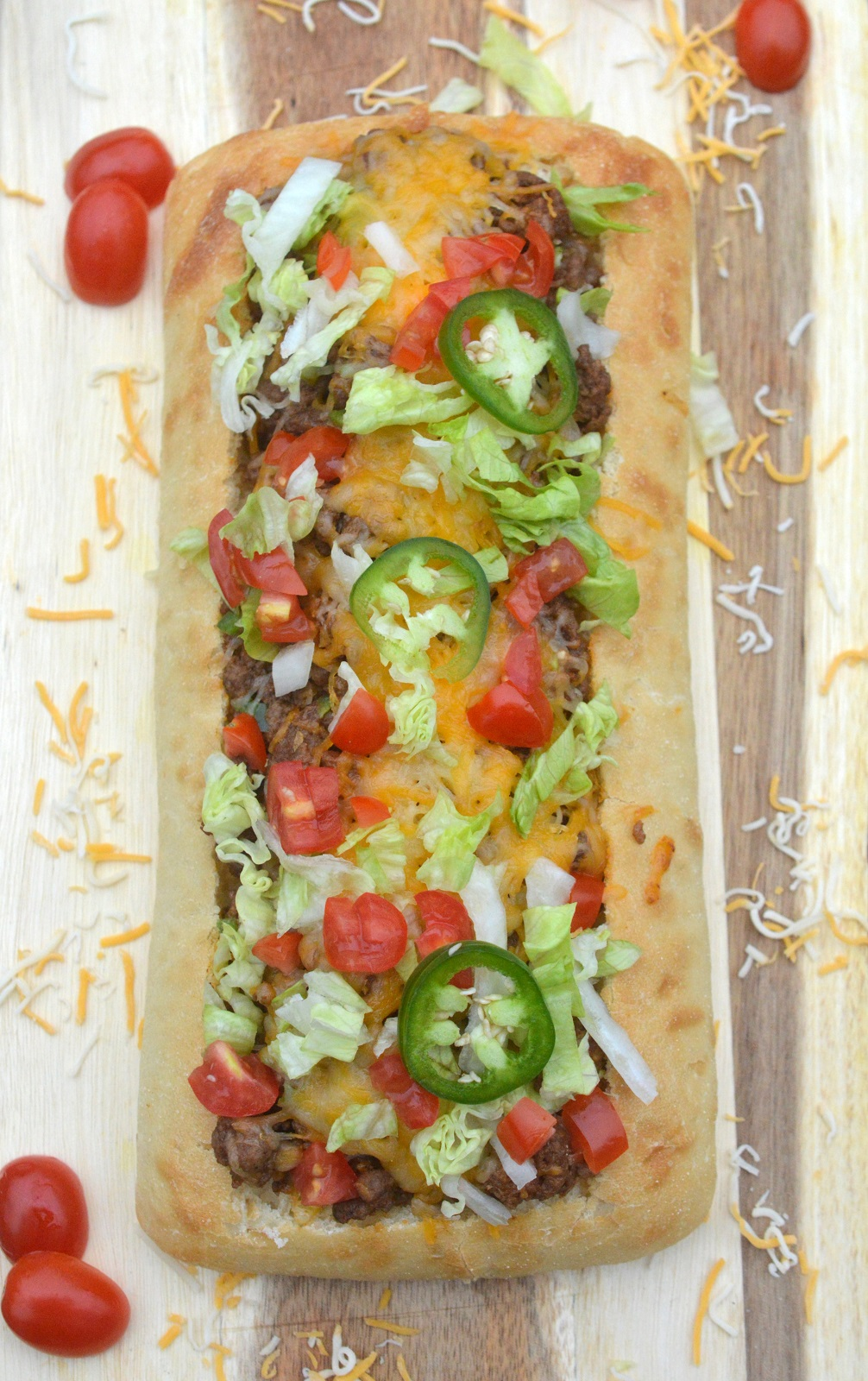 Recipe Stuffed Taco Bread