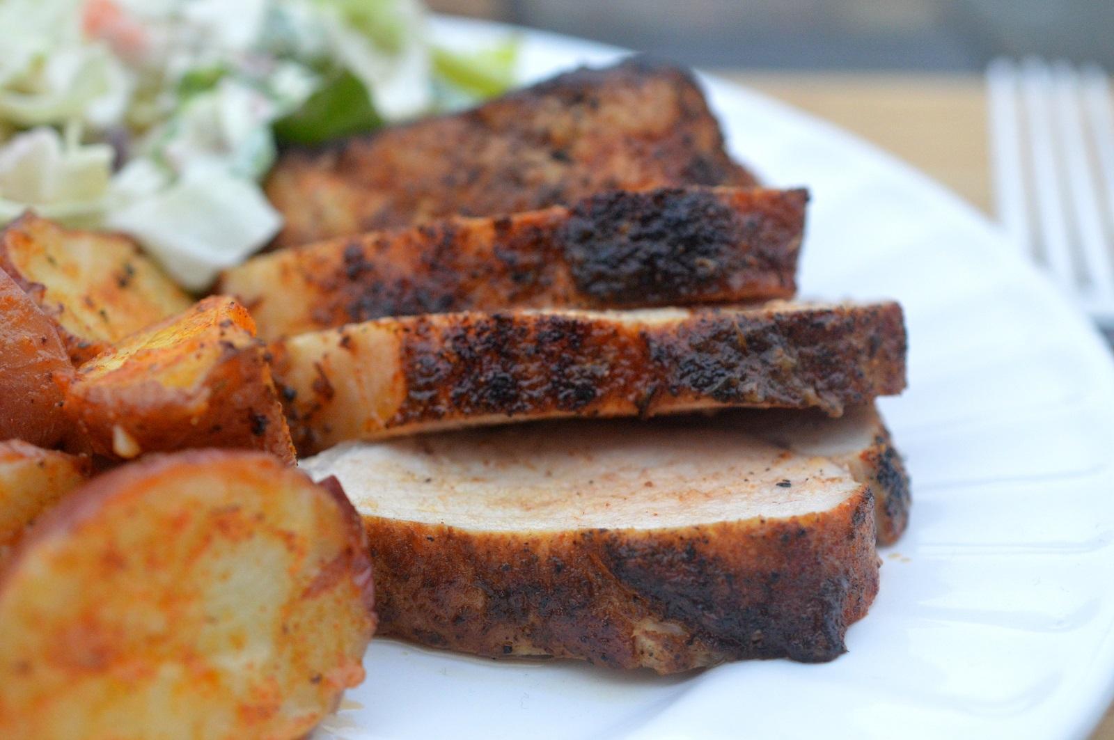 Blackened Pork Tenderloin 30 Minute Meal