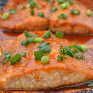 Glazed Salmon In Foil
