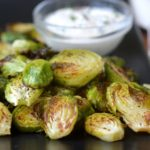 Brussels Sprouts Chips with Quick Lemon Aioli