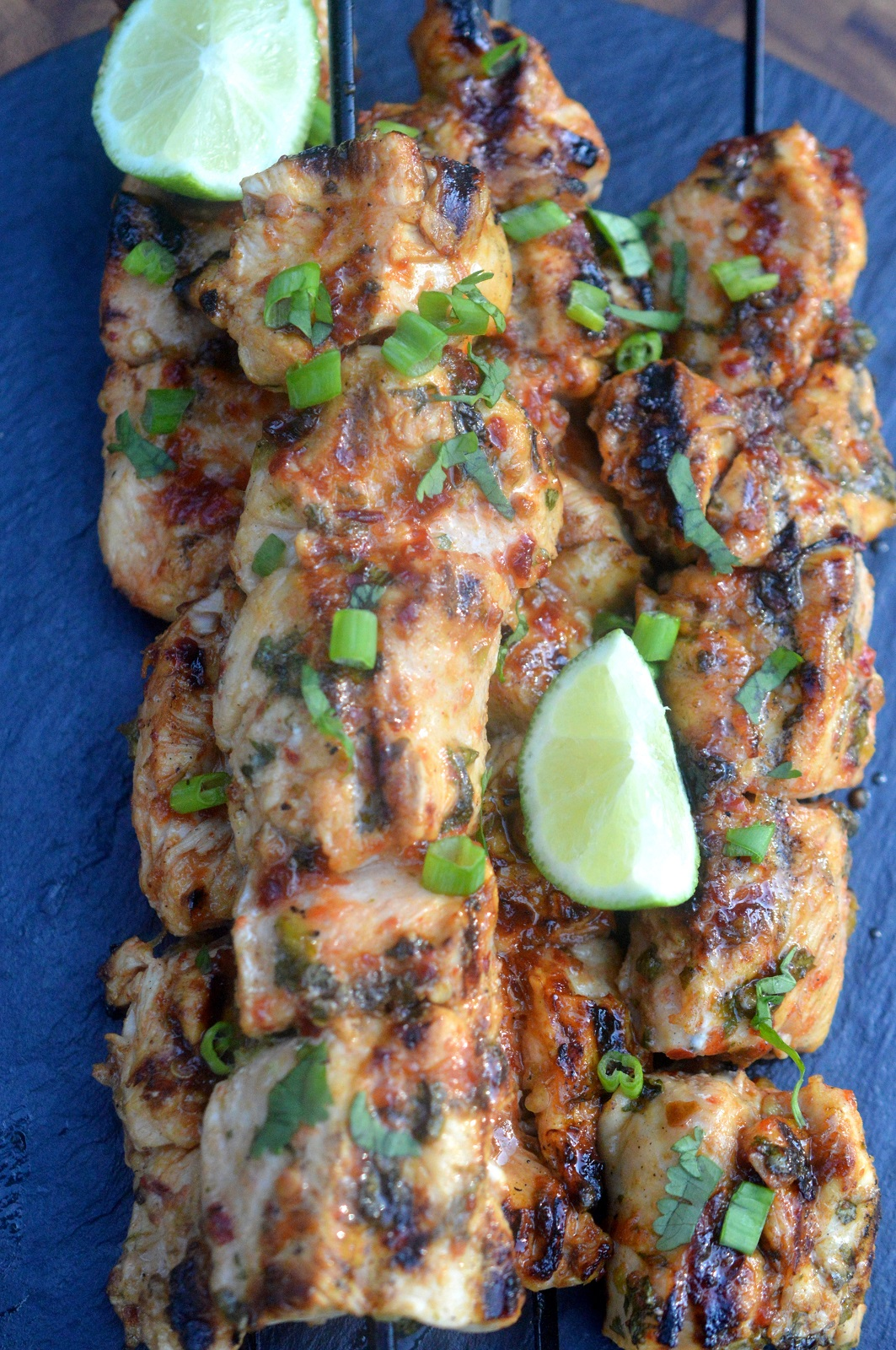 Easy & Delicious Grilled Chili Lime Chicken Skewers