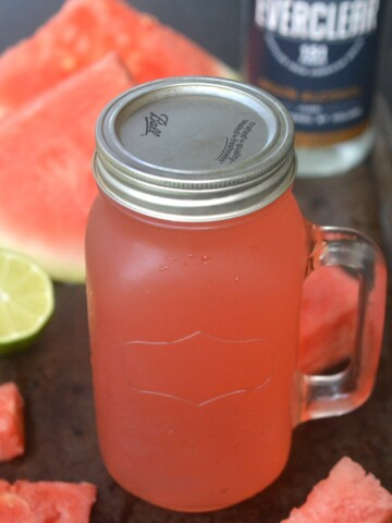 How To Make Watermelon Lime Moonshine