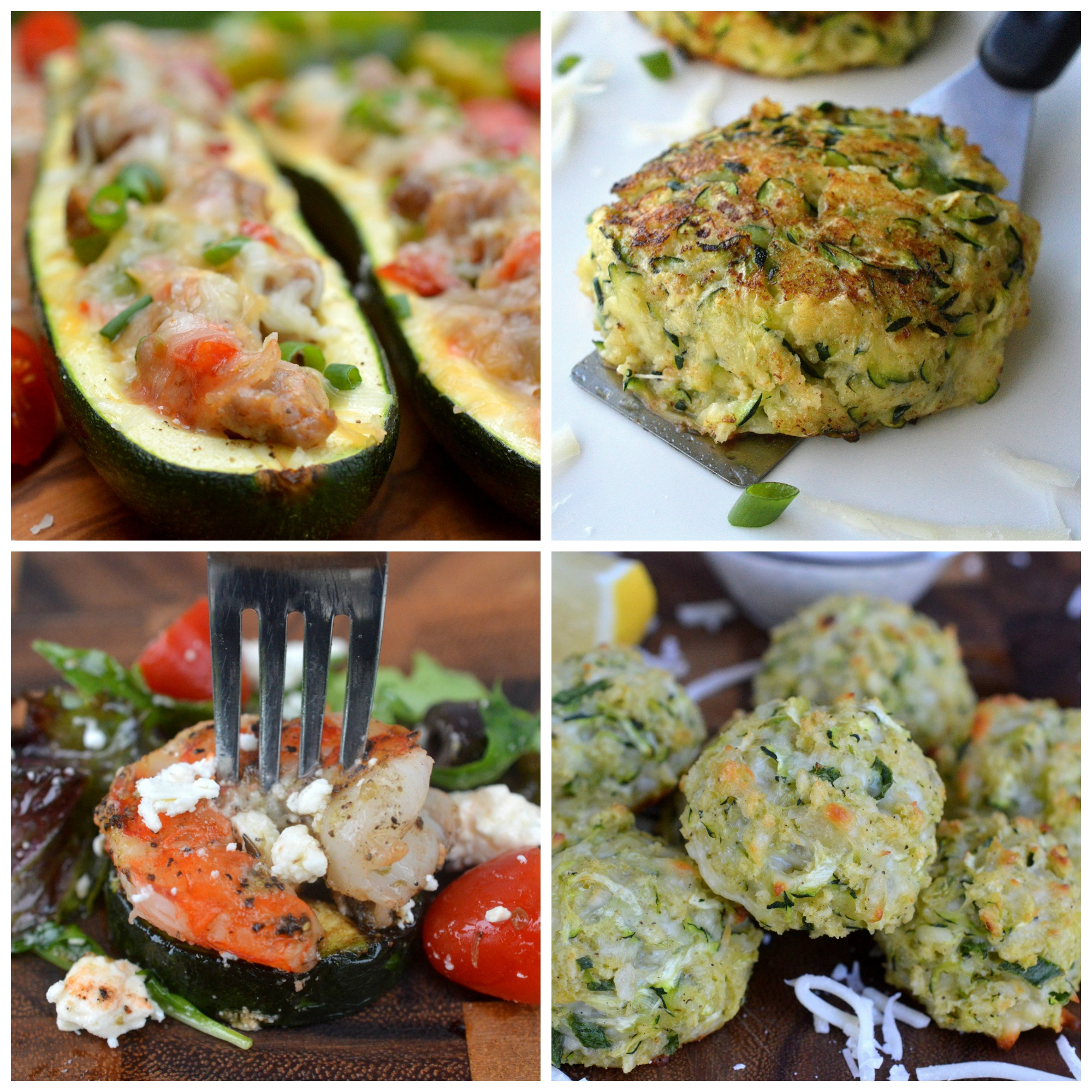 Recipes to make with zucchini