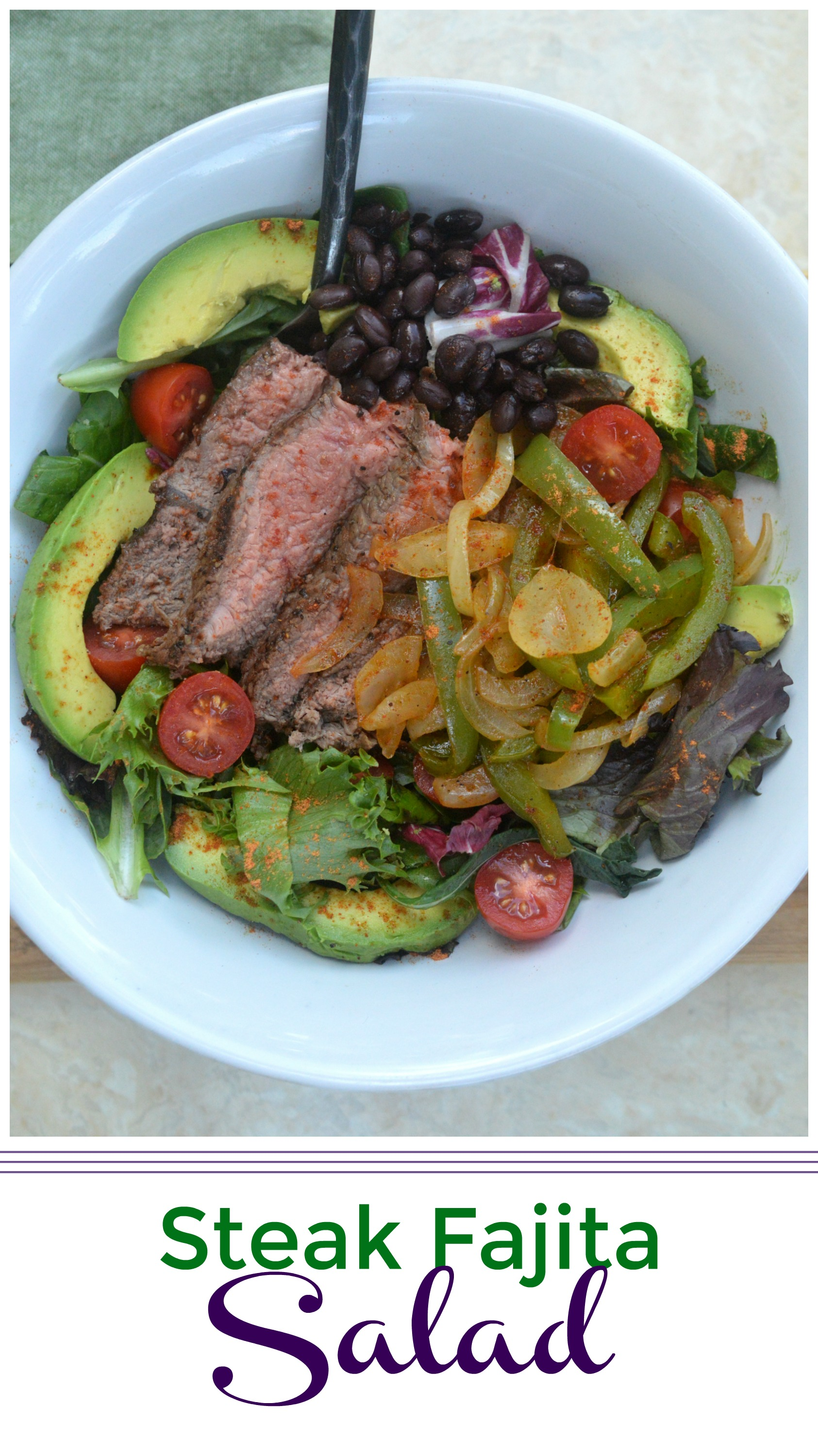Steak Fajita Salad Recipe