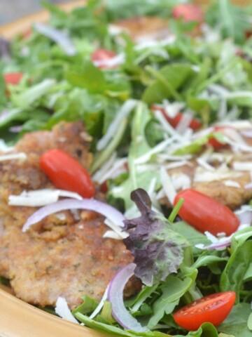 Veal Milanese Salad Recipe
