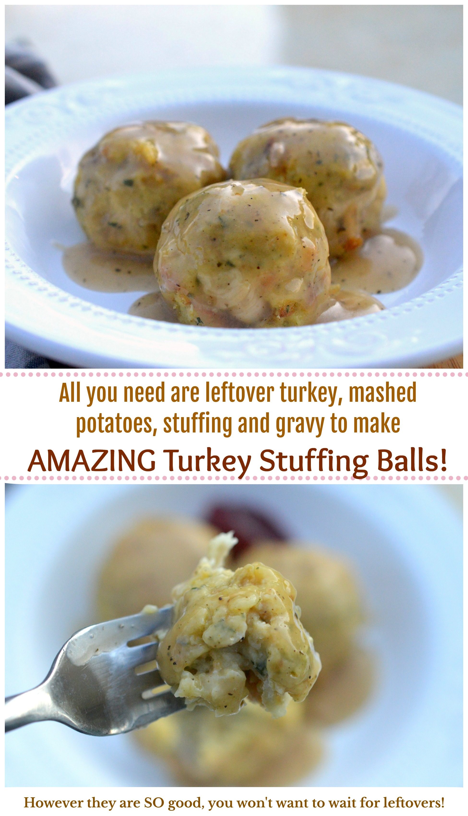 Best Ever Turkey Stuffing Potato Balls!