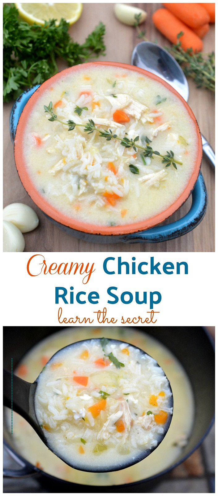 Recipe for Chicken Rice Soup