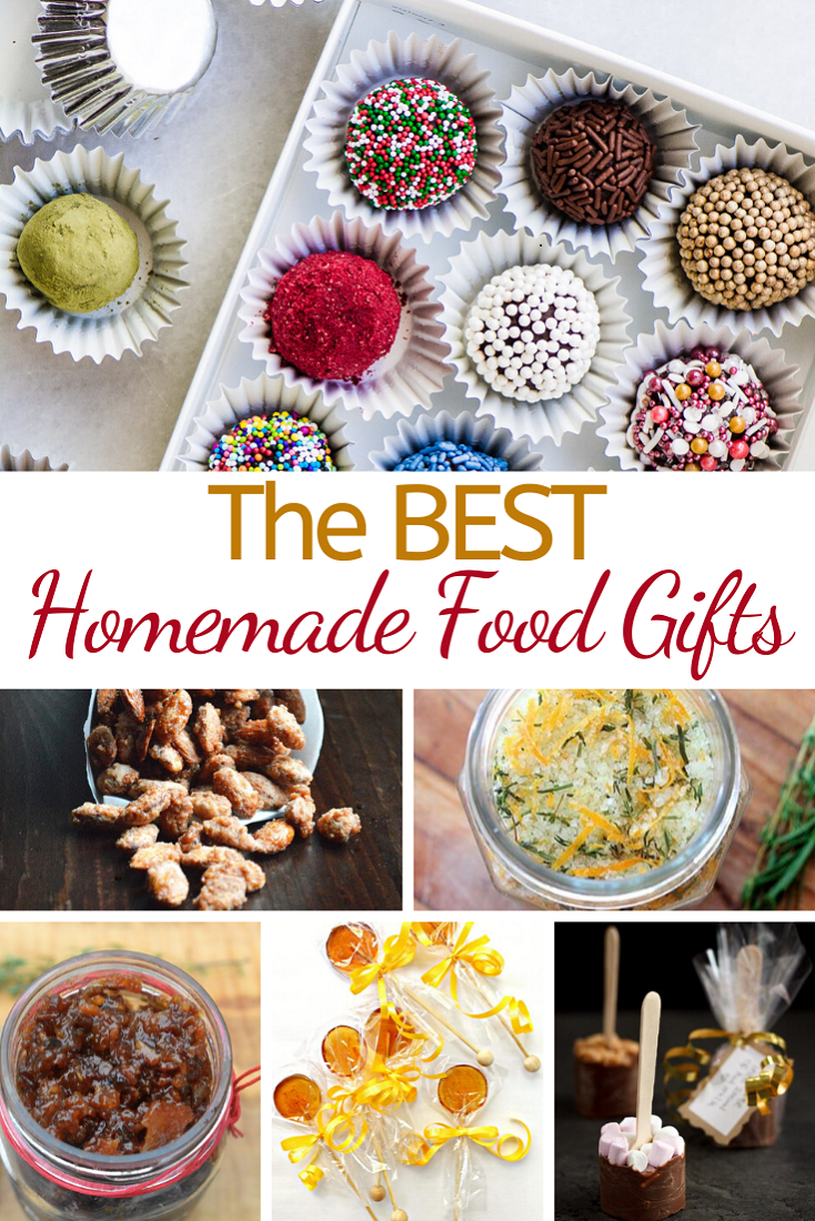 Recipes for The BEST Homemade Food Gifts