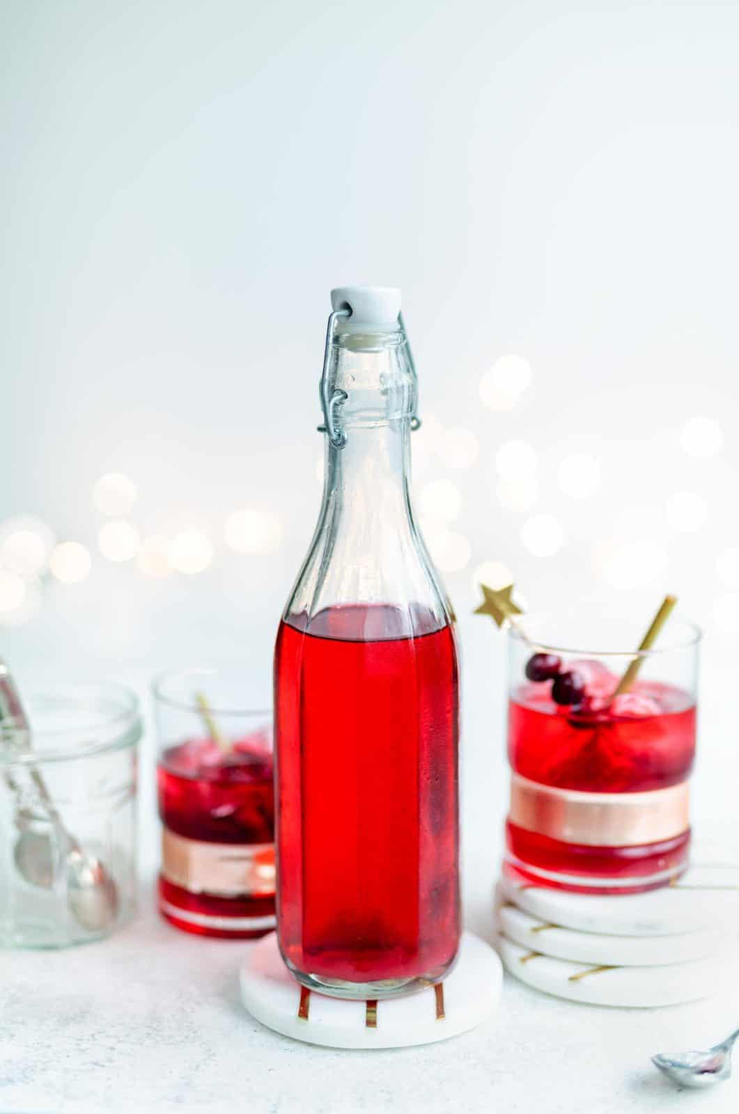 Amazing Homemade Food Gift Ideas Cranberry Vodka