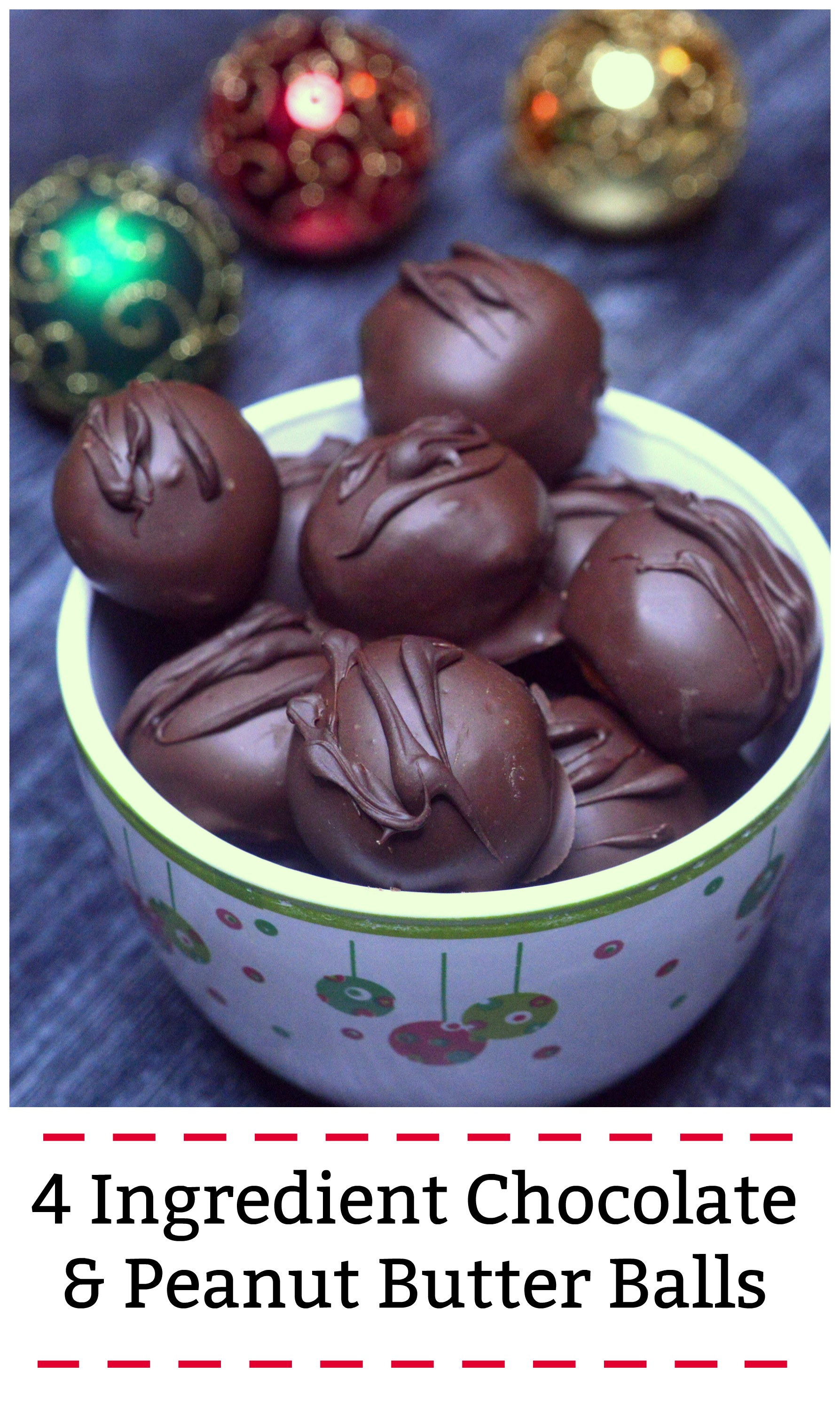Easy Homemade Chocolate Peanut Butter Balls