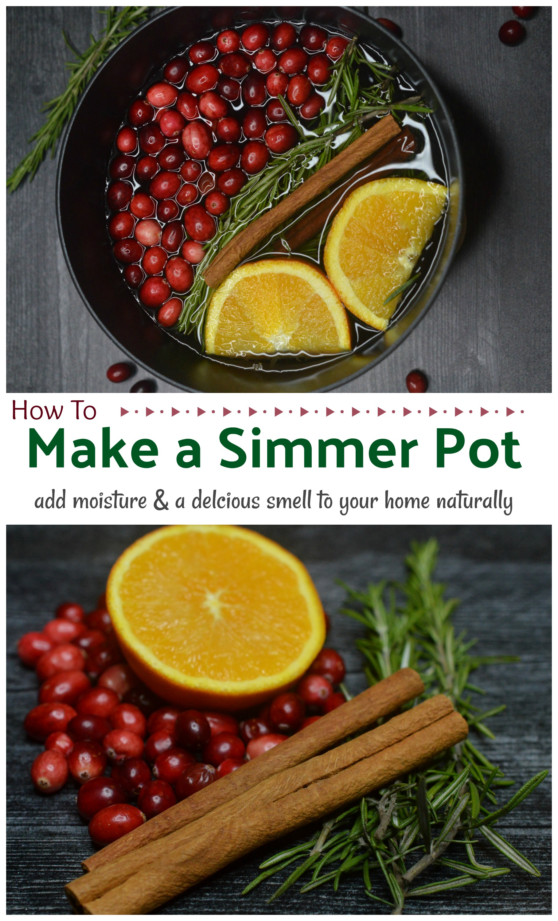 Easy homemade Potpourri Simmer Pot