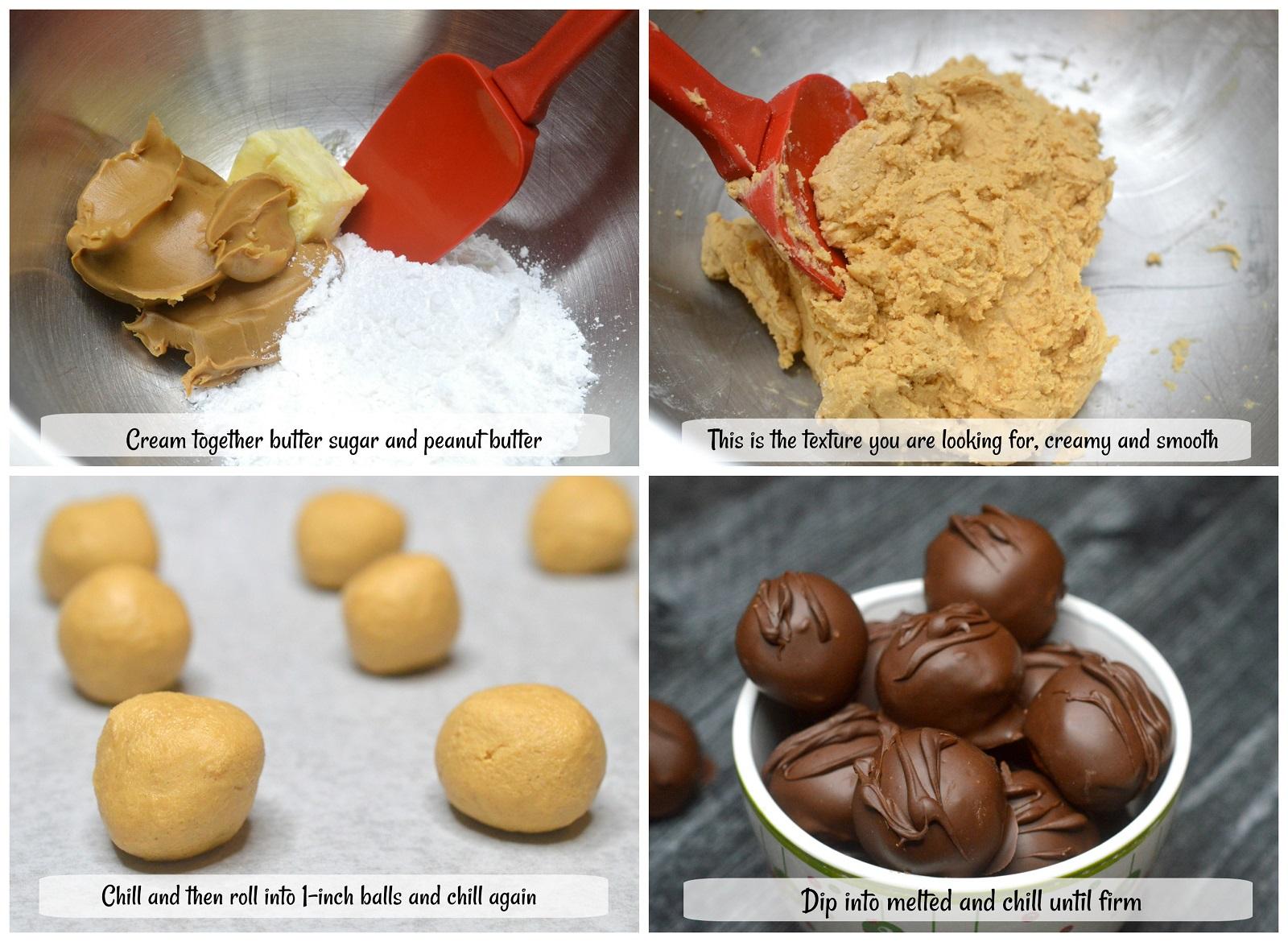 How To Make Homemade Chocolate Peanut Butter Balls