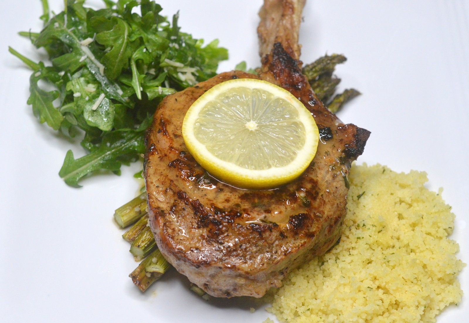 Pan Fried Veal Chops with White Wine Sauce Recipe