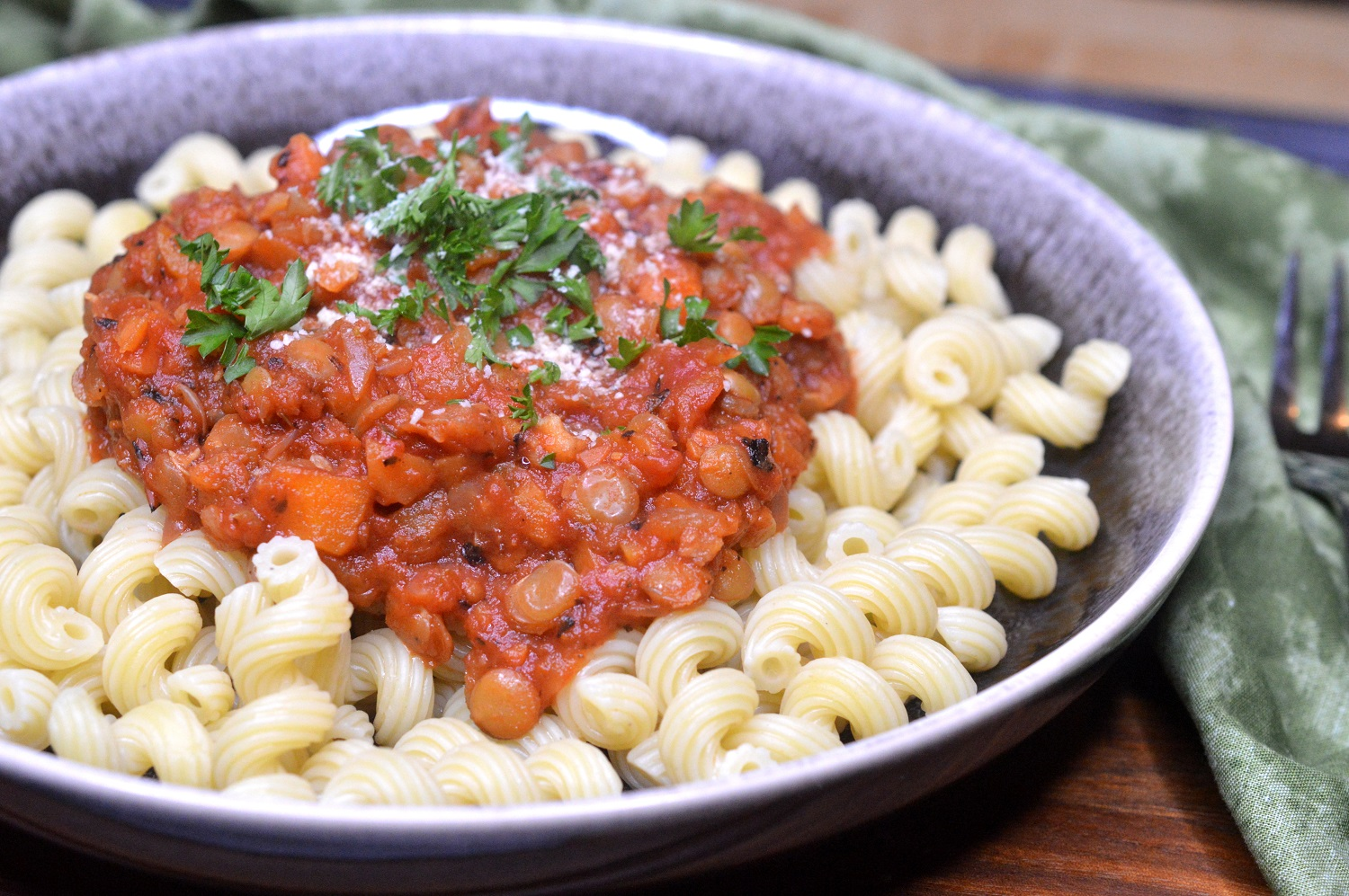 How To Make Easy Lentil Bolognese