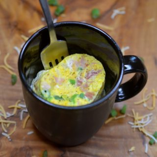5 Minute Microwave Mug Omelet