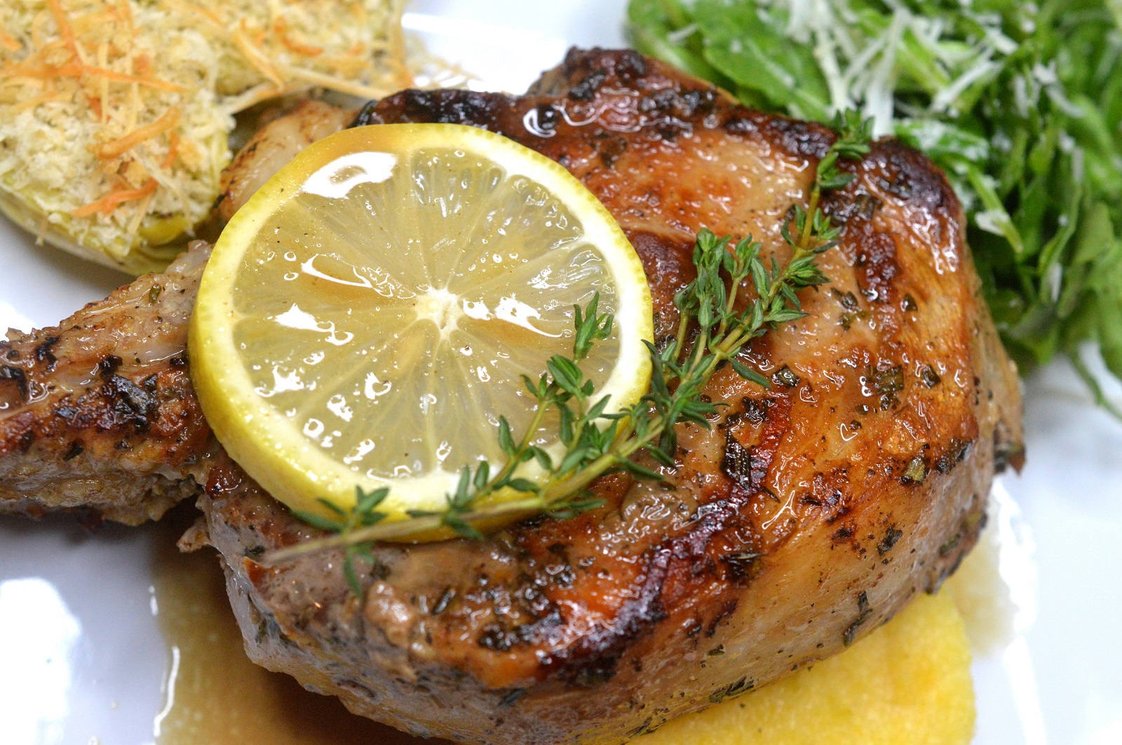 veal chop meat recipes Pan-Fried Veal Chops with White Wine Sauce