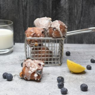 Blueberry Fritters Recipe