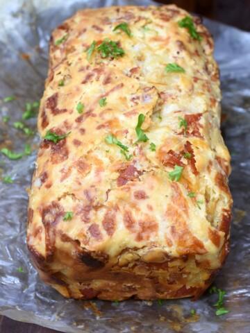 Cheesy Pepperoni Quick Bread