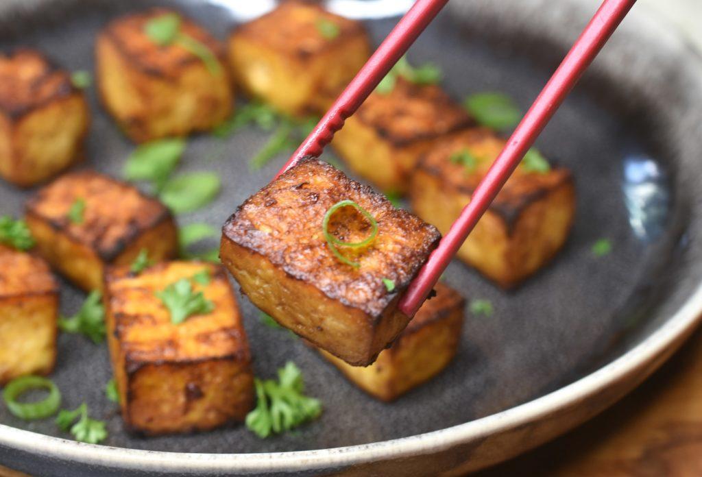 How to make Crispy Air Fried Tofu