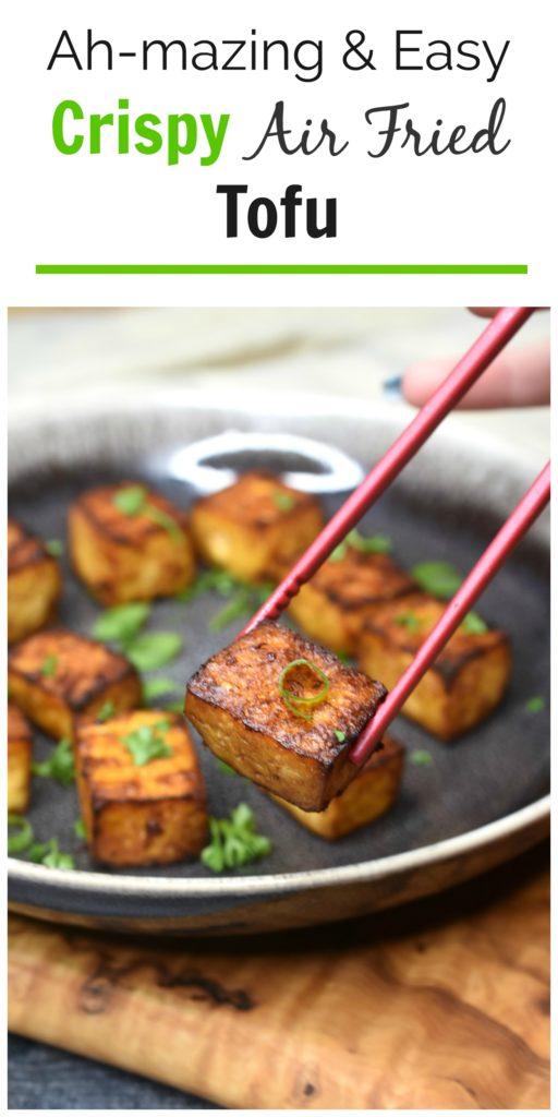 Crsip Tofu Recipe in the Air Fryer
