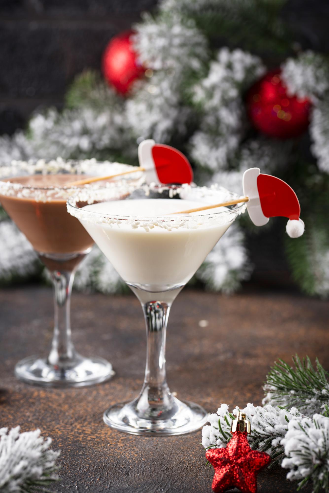 White Chocolate Peppermint Martini