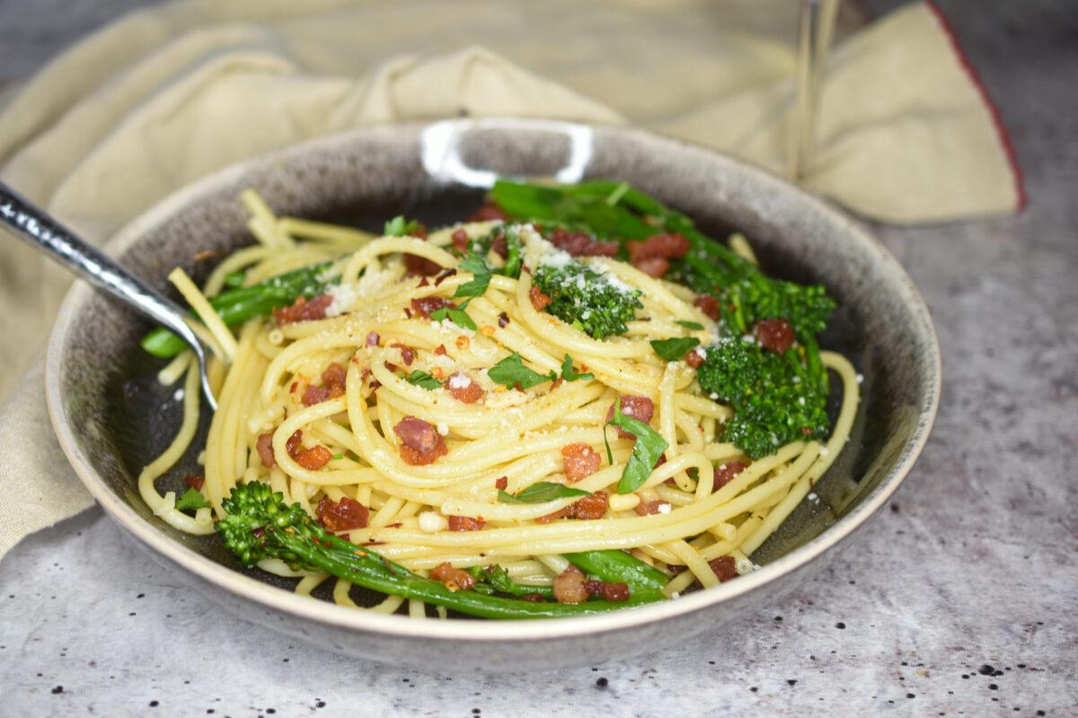 Pasta With Pancetta & Broccoli Rabe
