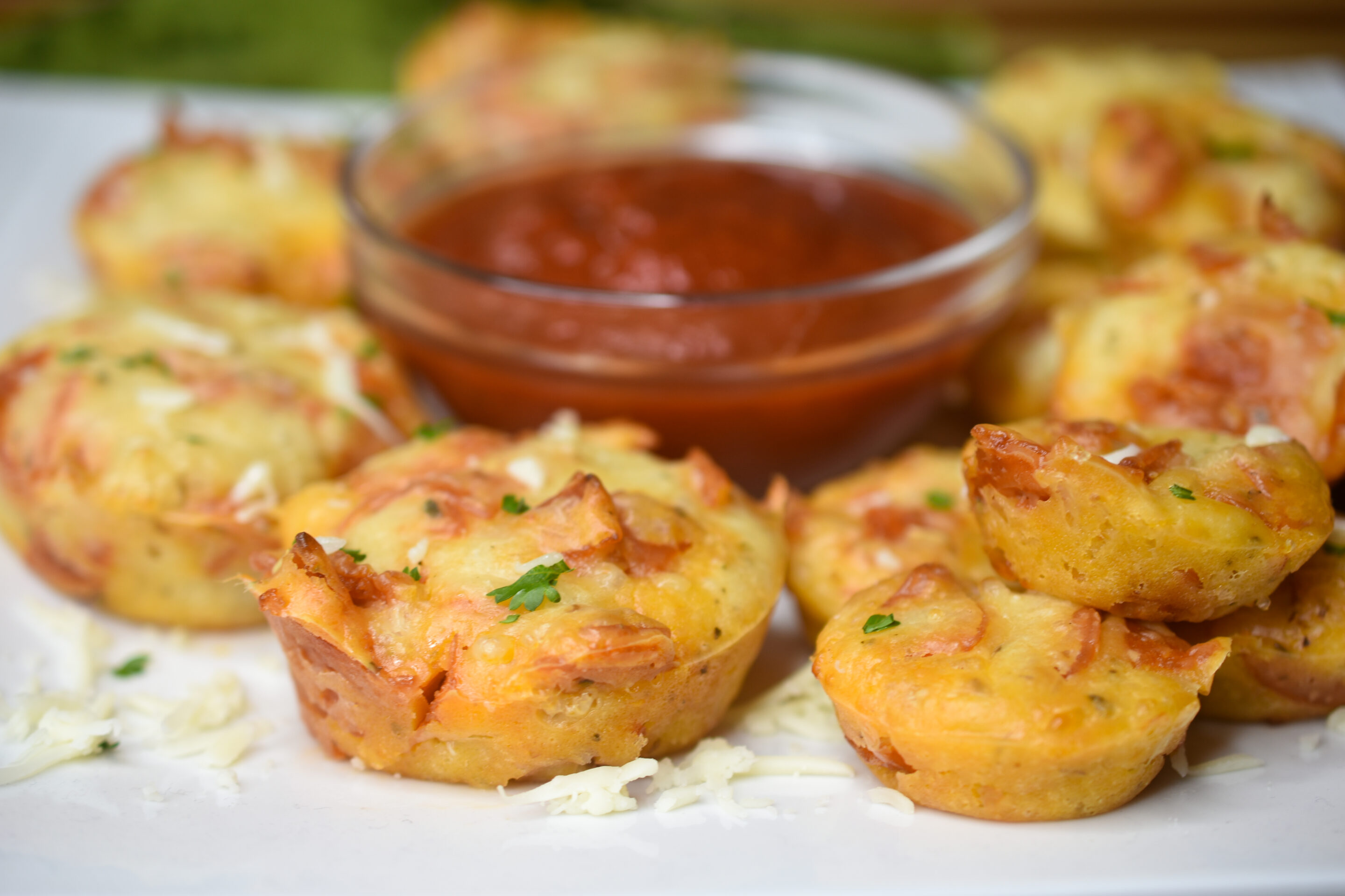 Easy Homemade Pizza Muffins