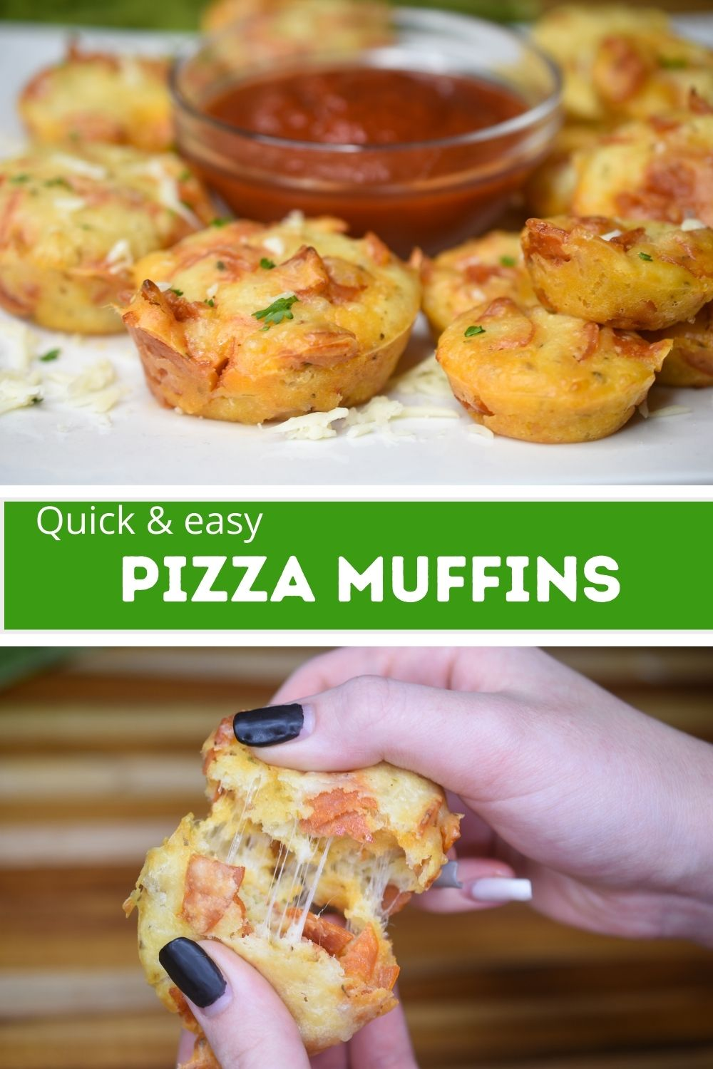 Homemade Pizza Muffins