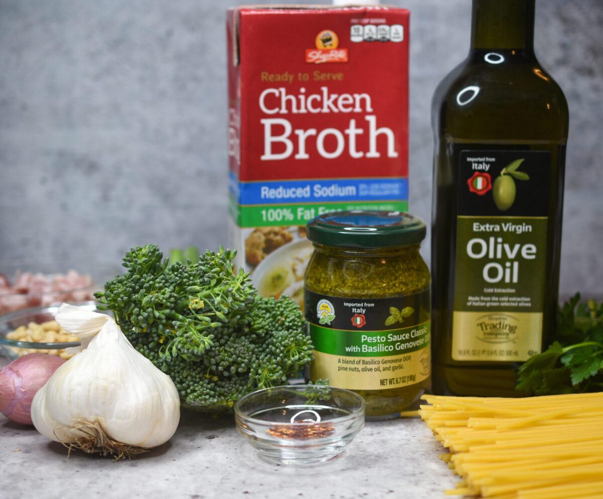 ShopRite Ingredients to make Pasta with Pancetta