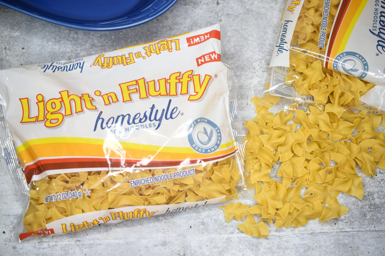 Light n Fluffy Noodles
